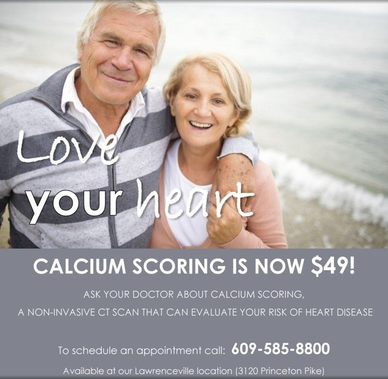 Calcium Scoring, a Crucial Exam at the Lowest Price Around