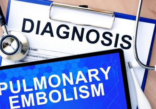 What's a pulmonary embolism?